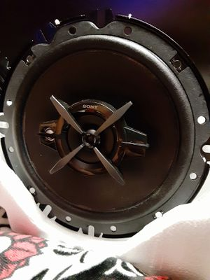 Sony 3 Way Car Speakers XS-FB1630 for Sale in Riverside, CA