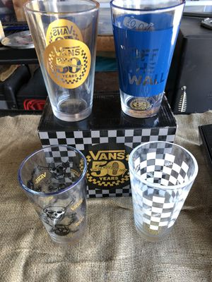 Van's 50th anniversary glasses! New in Box for Sale in Vacaville, CA