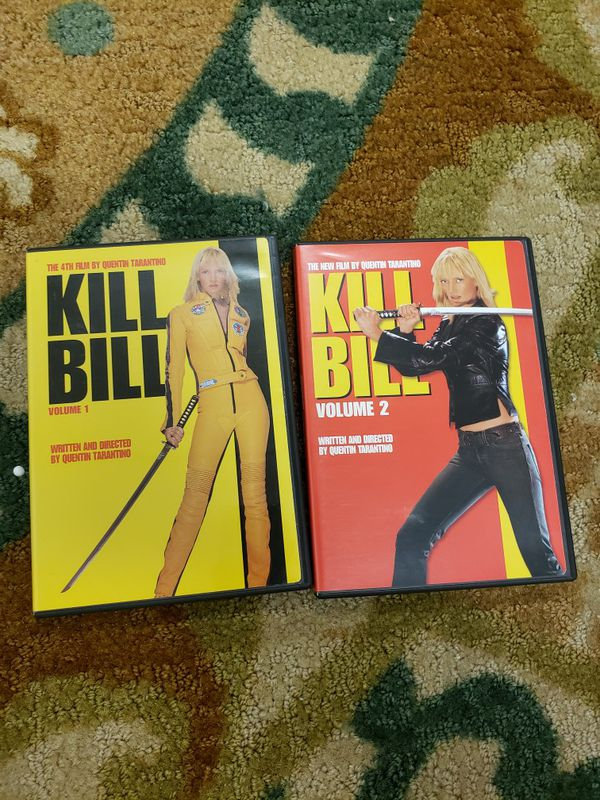 Kill Bill Volume 1 & 2 DVD set