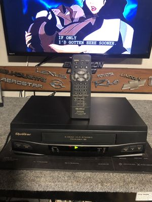 Quasar VCR with remote perfect shape for Sale in Fort Lauderdale, FL