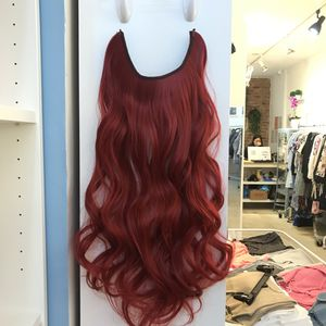 "24"" Fish line band halo hair extensions for Sale in Brooklyn, NY"