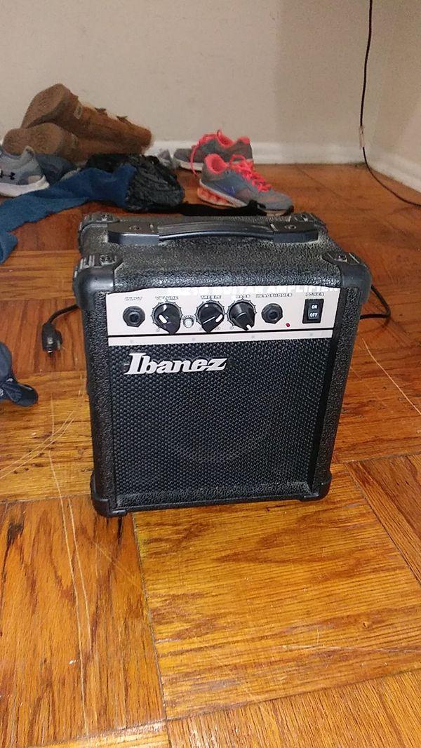 A guitar speaker