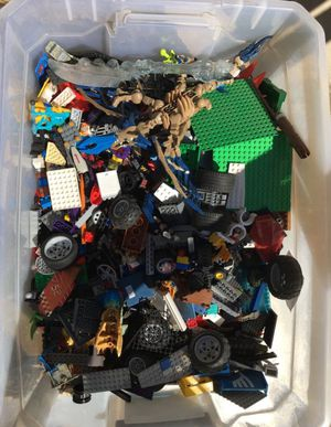 Giant box of legos and other toys for Sale in Fresno, CA