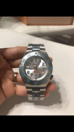 Original Aragon BioLuminescence Slvr & Green Accent NH35 Automatic Watches Men's.brand New $500 for Sale in Arlington,  TX