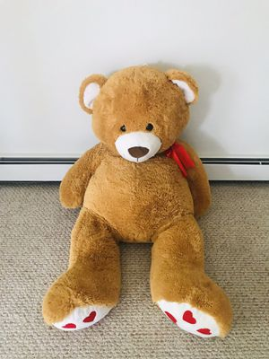 Big teddy bear 130cm height for Sale in Oak Forest, IL