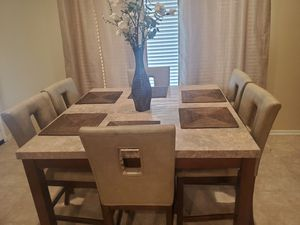 Marble table dining set for Sale in Perris, CA