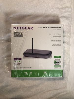 NetGear G54/N150 Wireless Router for Sale in Shepherdstown, WV