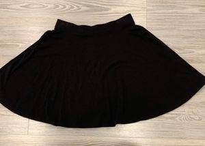 Victoria Secret VS PINK black skater skirt for Sale in Silver Spring, MD