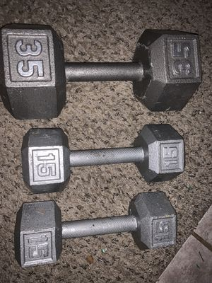 Weights dumbbells for Sale in Milwaukie, OR