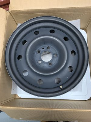 4 Toyota 17x7 steel rims for Sale in Frederick, MD