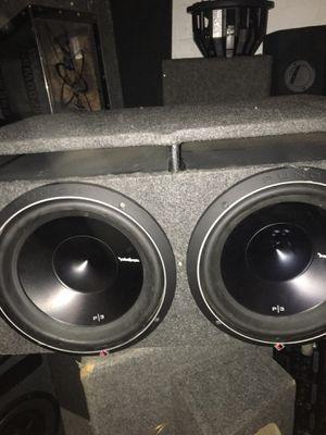 2400 watts 12 inches Rockford Fosgate p3 for Sale in Boston, MA