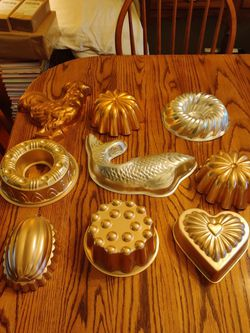 Group Of Jello Molds - $10.00 For All for Sale in St. Louis,  MO