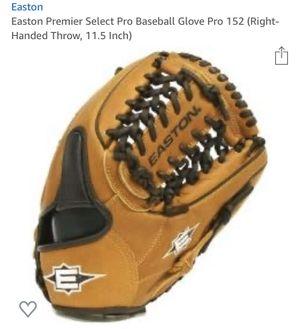 "Easton Pro152 Premier Select baseball glove 11.5"" OBO Like New for Sale in San Lorenzo, CA"