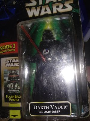 Star Wars The Power of force Darth Vader 1999 episode 1 Collectibles action figure for Sale in Oklahoma City, OK
