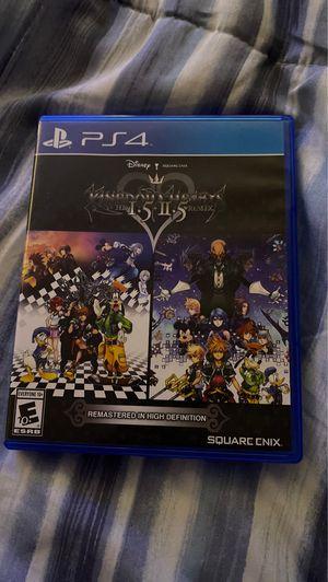 Kingdom Hearts HD 1.5 + 2.5 ReMix for Sale in Perris, CA