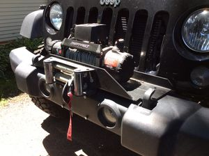 Jeep JK winch PLATE only for Sale in West Chicago, IL
