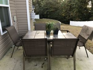 Outdoor table for Sale in Raleigh, NC