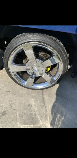 Chevy ss wheels 22 for Sale in Chino, CA