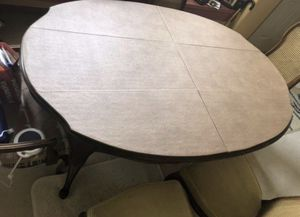 Table and 6 Chairs for Sale in Puyallup, WA
