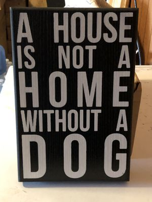 Home decor sign $5 for Sale in Apple Valley, CA