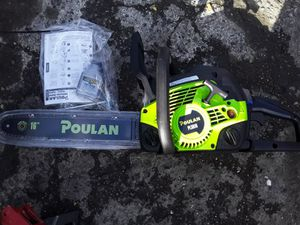 Poulan chainsaw for Sale in Seattle, WA
