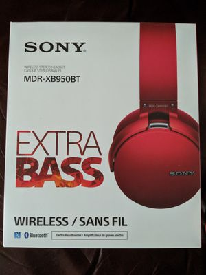 Sony MDR-X950BT Bluetooth Headphones with Bass Boost for Sale in Altamonte Springs, FL