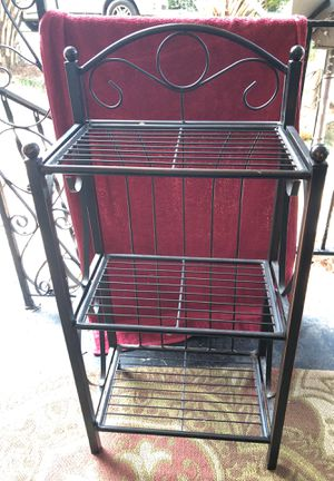 Small heavy rack with shelves for Sale in Columbia, SC