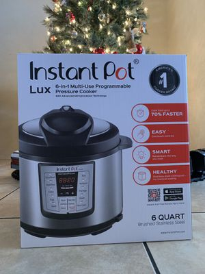 Instant Pot Lux 6-in-1 Electric Pressure Cooker 6 Quart for Sale in Tempe, AZ