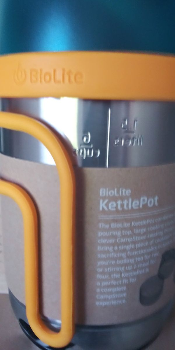 Kettlepot for camping brand new never been used never been used