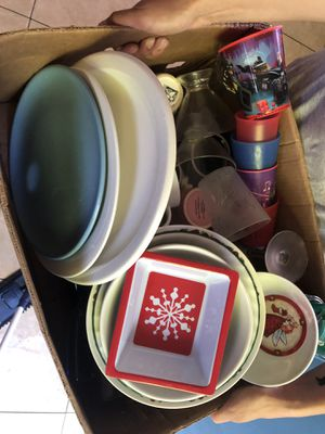 Free mugs plates cups for Sale in Pomona, CA