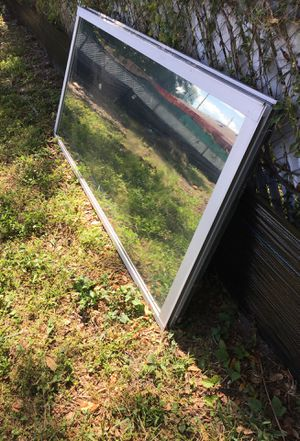 "Standard glass sliding doors (2 piece) 6'-8""x 6'. for Sale in Orlando, FL"