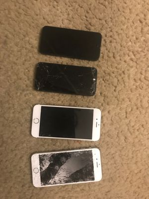 """iPhone 5""""s and IPhone 6""""s Sell them for parts ( 1 is in good condition just have a iCloud) for Sale in Baltimore, MD"""