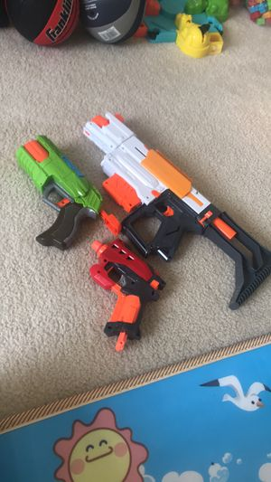Nerf gun toys for Sale in Boca Raton, FL
