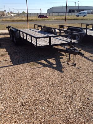 #0813 77x18 flatbed for Sale in Abilene, TX