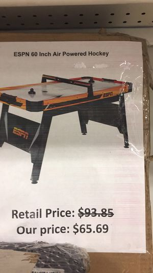 ESPN 60 inch aire powered hockey table for Sale in San Leandro, CA