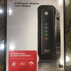 Motorola SURFboard eXtreme Cable Modem SB6121 for Sale in Woodinville, WA