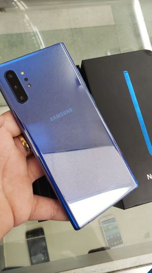 """Samsung Galaxy Note 10 plus 256GB FACTORY UNLOCKED"""" New phone with warranty for Sale in Silver Spring, MD"""