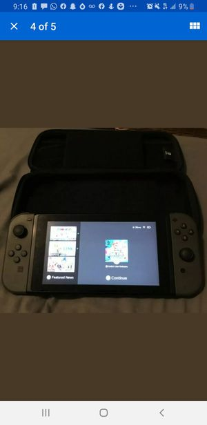 nintendo switch with game for Sale in Garden Grove, CA