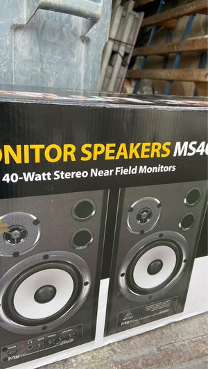 Digital monitor speakers ms40 for Sale in Sunnyvale, CA