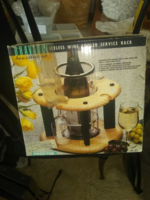 Wine cooler rack open box never used for Sale in Fort Belvoir, VA