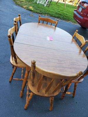 Dinning Table + 6 chairs for Sale in Wenatchee, WA