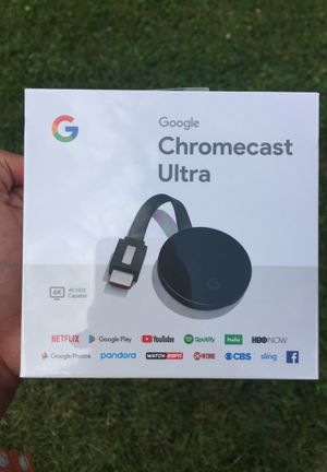 Chromecast Ultra for Sale in Indianapolis, IN