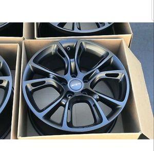 "20"" Jeep Grand Cherokee SRT Wheels Factory OEM Black for Sale in Long Beach, CA"