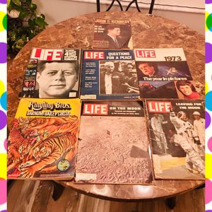Rare Moon Landing Kennedy Life Magazine 7 for Sale in Spring Hill, FL