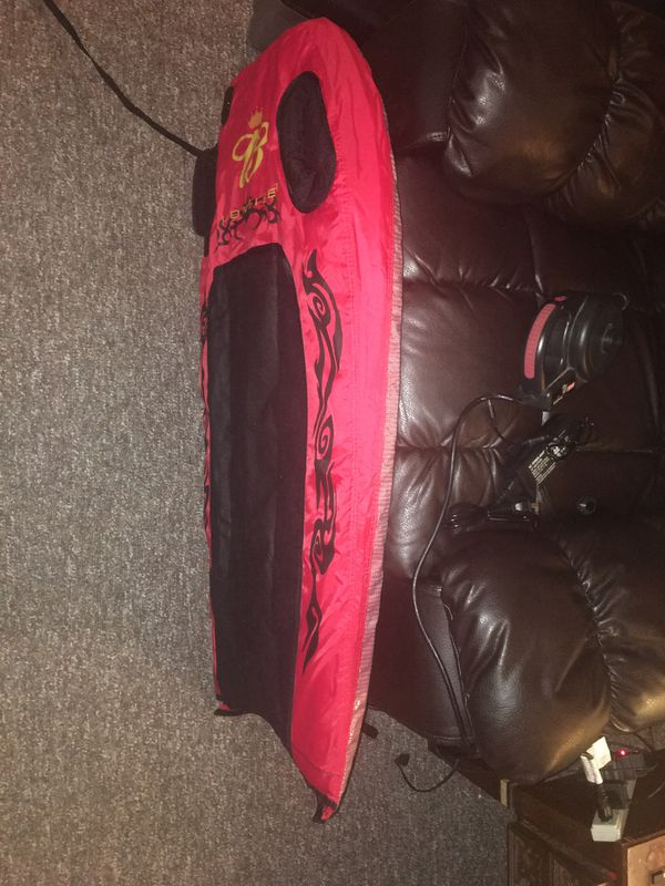 BUDWEISER ADVERTISING PROMOTIONAL SURFING BODYBOARD BOOGIEBOARD INFLATABLE RARE