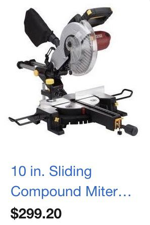 """Chicago Electric Power Tools: 10"""" Industrial Tile/Brick Saw"""