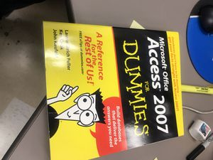 Microsoft office access 2007 for Sale in Campbell, CA