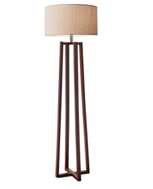 "Adesso Quinn 60"" Walnut Floor Lamp $65 Open box - never used for Sale in Beckett Ridge, OH"