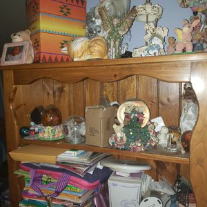 Hand made book case solid wood with storage case under neith for Sale in NO HUNTINGDON, PA