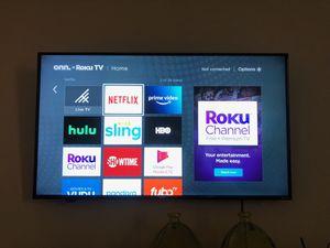 "50"" Smart TV: Moving sale!!!! for Sale in Murrieta, CA"